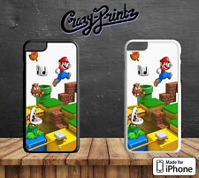 Super Mario Classic 3D Video Game Retro Hard Case Cover for all iPhone Models G4