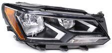 OEM Volkswagen Passat Right Passenger Side Halogen Headlamp Lens Chip