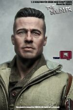 Three Q Custom 1/6 Scale Brad Pitt Head Sculpt For Fury Fit hot toys body