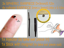 SPHERIC INVISIBLE MICRO MINI SPY TINY NANO EARPIECE HEADSET EARPHONE REPLACEMENT