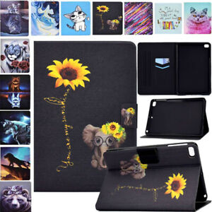 PU Leather Case Cover For iPad 5th 6th 7th 8th Gen Air 3 4 Pro 10.5 11 2020 Mini