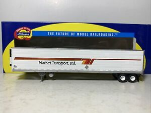 Athearn   53' Reefer Trailer   Market Transport Ltd.  #1029   HO Scale