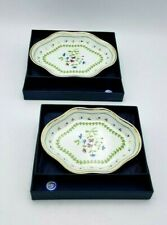 2 DISHES GODINGER & CO PETITS FLEUR HOME ESSENTIAL NEW IN BOX