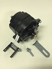 1928-1931 Ford Model A Black Painted Alternator. Bracket, Pulley 6 Volt Pos