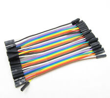 10cm 2.54mm Female to Female Dupont Wire Jumper Cable for Arduino Breadboard