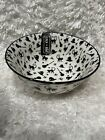 Coco & Lola Mugshotz Halloween Spooky Cat, Broom And Witches Hat Bowl New