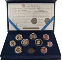 Malta Euro KMS 2015 Stgl mit 2 Euro Parlamentarische Republik mit Münzzeichen