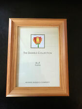The Daniels Collection New 5x7 Picture Frame Natural Oak