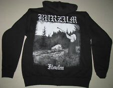 1BURZUM Filosofem OFFICIAL ZIPPER HOODIE ORIGINAL AVAILABLE SIZE Kapuzenjacke