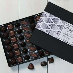 Giant No Added Sugar Chocolate Box Reduced Sugar Low Sugar Diabetic Large 48 Pcs