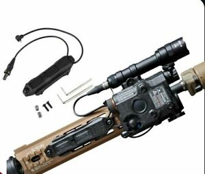 WADSN Tactical Augmented Pressure Switch for Surefire and PEQ - BLACK
