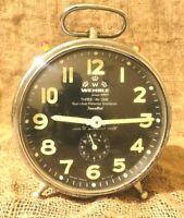 Vintage Alarm Clock Wehrle Three In One Protected Shockproof Made in Germany #19