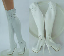 "White Long Shoes/Boots for 16"" tonner dolls JamieShow Sybarite V3 Ficon 12-SB-2"