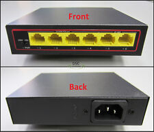 4 Port PoE+ Switch with 2 Ethernet Uplink and Extend Function-USA Shipping