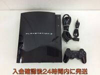 SONY PS 3 PS3 PlayStation 3 JP CECHB00 Game Console 20GB Black Original PS2