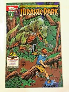 Jurassic Park #1 VF+ Topps (1993) -Adaptation Of The Film -Not Polybagged