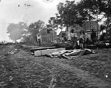 New 11x14 Civil War Photo: Burial of Dead after the Battle of Fredericksburg