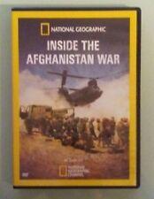 national geographic INSIDE THE AFGHANISTAN WAR DVD genuine region 1