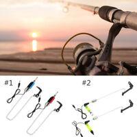 LED Fish Bite Indicator Bobbins Hanger Swinger Carp Fishing for Bite Alarm SP