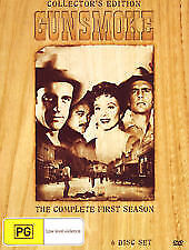 Gunsmoke : Season 1 (DVD, 2010, 6-Disc Wooden Box Set) REGION 4 BRAND NEW