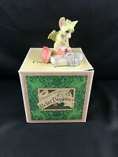 "1991 Whimsical World of Pocket Dragons ""Scales Of Injustice"" Figurine Nib Signed"