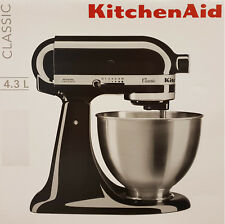 Kitchen AID ROBOT DA CUCINA, impasto-IMPASTATRICE Classic 5 K 45 sseob 4,3l, ONYX Nero