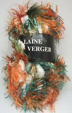 "LOT DE 8 PELOTES DE ""LAINE DU VERGER"" COULEURS 060&012"
