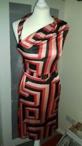 Versace Greek pattern dress