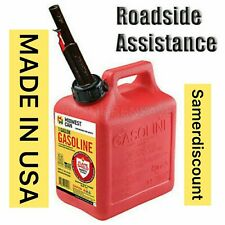 Midwest Can Company 1 Gallon Gas Auto Shut Off Gasoline water Fuel Car Emergency