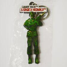 Army Men Sarge's Heroes (Nintendo 64, 1999) Sealed Keychain Promo Box Insert