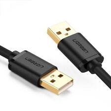 UGREEN USB2.0 A Male To Male Cable 0.25M/0.5M/1M/1.5M/2M/3M for HDD etc