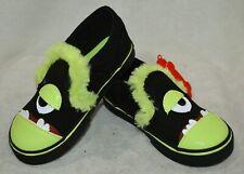 Vans Toddler Girl/Boy's Asher V Vanster Black/Green Skate Shoes - Size 8.5 NWB