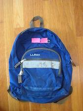 LL Bean Junior Original BOOK PACK Royal Blue backpack youth preschool bag L L