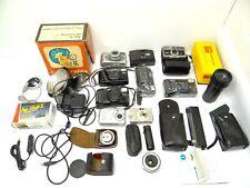 Mixed Lot Nikon FunTouch Polaroid Vivitar Teleconverter GE Timer Cameras Parts
