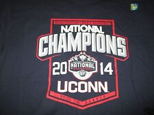 2014 UCONN CONNECTICUT HUSKIES Men's Basketball National Champs (LG) Shirt Holo