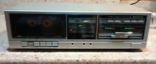 Vintage Sanyo single Cassette Deck Player Recorder Rd S28 Stereo