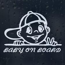 Baby On Board Funny Boy Car Decal Vinyl Sticker