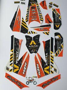 Kit Déco GRAPHICS KTM 125>450 SX SXF 2005>2006 / EXC 2005>2007