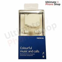 Genuine Nokia BH-111 Universal Bluetooth Headset Headphone White - Brand New