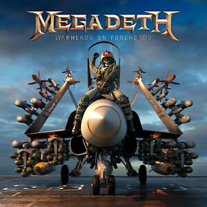 Megadeth Warheads On Foreheads 12x12 Album Cover Replica Poster Gloss Print