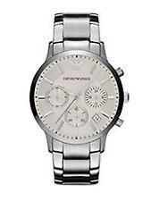 Runde Emporio Armani Armbanduhren mit Datumsanzeige für Damen