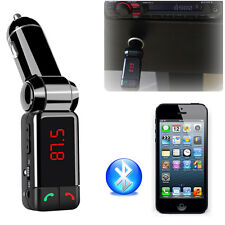 Lcd Dual Usb Car Kit Charger Wireless Bluetooth Stereo Mp3 Player Fm Transmitter