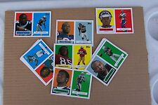 2006 Topps Football Turn Back The Clock - 22 Card Set w/ Cutler, Addai, MJD, etc