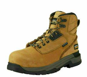 "Mens Ariat Mastergrip 6"" H20 Waterproof Safety Work Boots : 10019259"