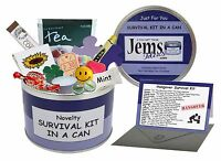 HANGOVER Survival Kit In A Can. Stag/Hen/Party/Wedding/18th/21st Birthday Gift