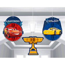 Disney Cars Grand Prix Dream Party Table Cloth 54 in X 96 in Banquet Table Cover