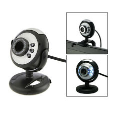 HD 12.0 MP 6 LED USB Webcam Camera with Mic & Night Vision for Desktop PC Laptop
