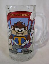 Tasmanian Devil Root Beer Mug Super Taz in Phone Booth Looney Tunes