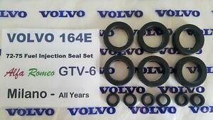 Volvo 164E, Alfa Romeo 164 - Milano & GTV-6, Jaguar, Fuel Injector Seal Kit -12