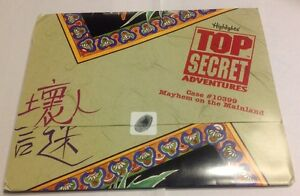 CHINA Highlights Top Secret Adventures Case #10399 Mayhem on the Mainland